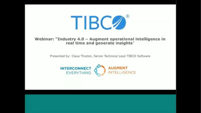 Augment operational intelligence in real time & generate insights