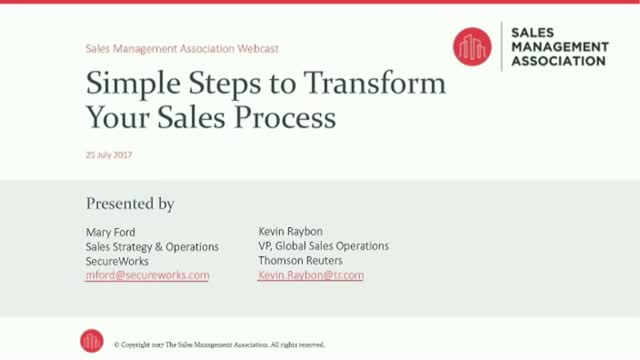 Simple Steps to Transform Your Sales Process