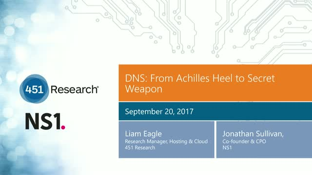 DNS: From Achilles Heel to Secret Weapon