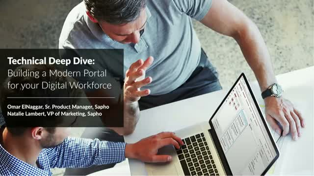 Technical Deep Dive: Building a Modern Portal For Your Digital Workforce