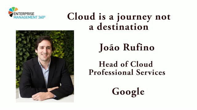 'Cloud is a journey, not a destination'