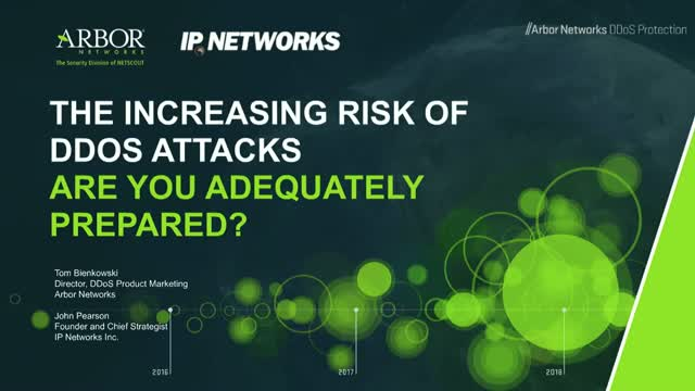 The Increasing Risk of DDoS Attacks – Are You Adequately Prepared?
