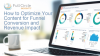 How to Optimize Your Content for Funnel Conversion and Revenue Impact