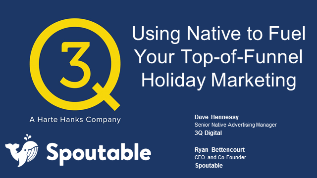 Using Native Advertising To Fuel Your Top-of-Funnel Holiday Marketing