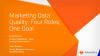 Marketing Data Quality: Four Roles, One Goal