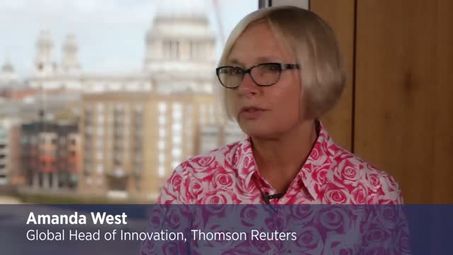 Amanda West at Thomson Reuters discusses innovation with PA Consulting Group