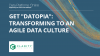 "Get ""Datopia"": Transforming to an Agile Data Culture"