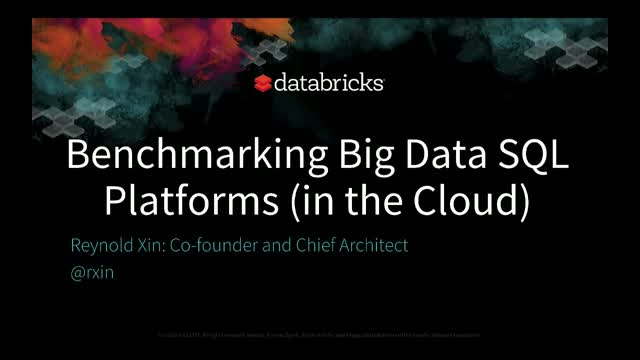 Performance Benchmarking Big Data Platforms in the Cloud