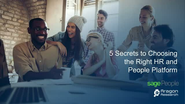 5 secrets to choosing the right HR and People system