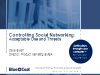 Controlling Social Networking: Acceptable Use and Threats