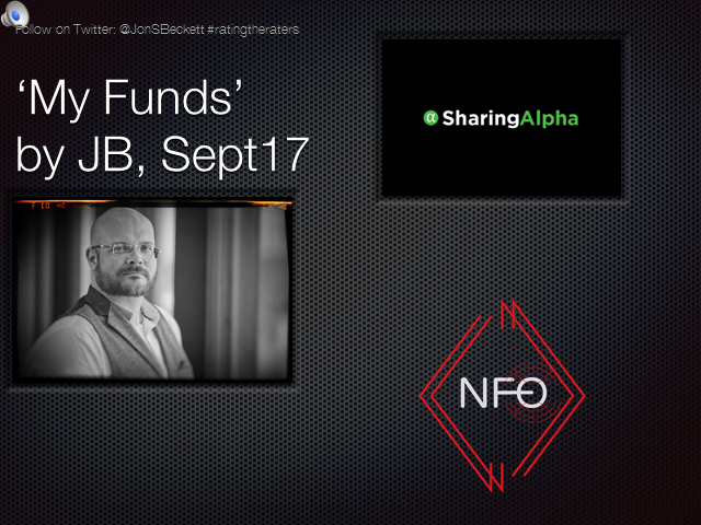 JB's top rated funds on SharingAlpha