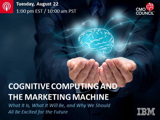 Cognitive Computing and the Marketing Machine