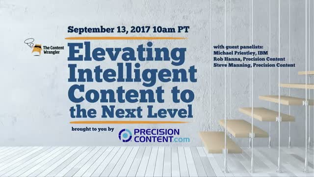 Elevating Intelligent Content to the Next Level