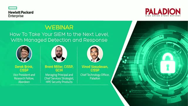How to Take Your SIEM to the Next Level With Managed Detection & Response