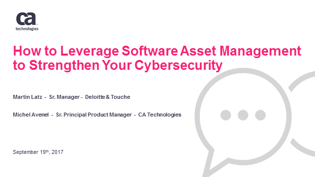How to Leverage Software Asset Management to Strengthen Your Cybersecurity