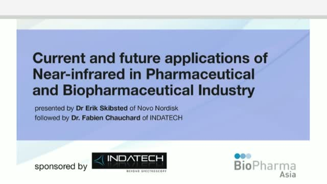 Current and future applications of Near-infrared in Pharmaceutical and Biopharma