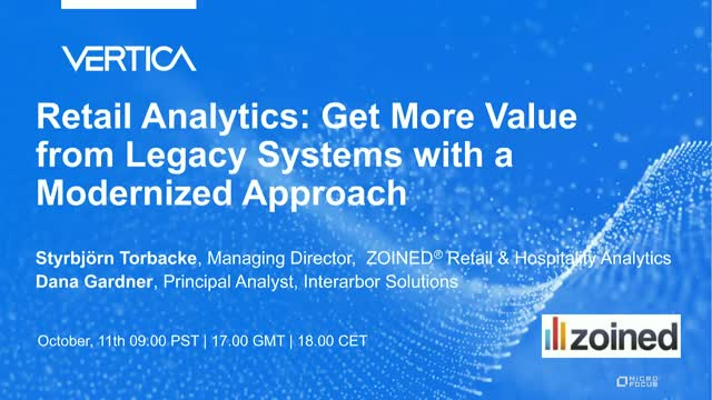 Retail Analytics: Get More Value from Legacy Systems with a Modernized Approach