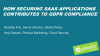 How Securing SaaS Applications Contributes to GDPR Compliance