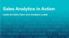 Sales Analytics in Action: Inside the Sales Team of an Analytics Leader