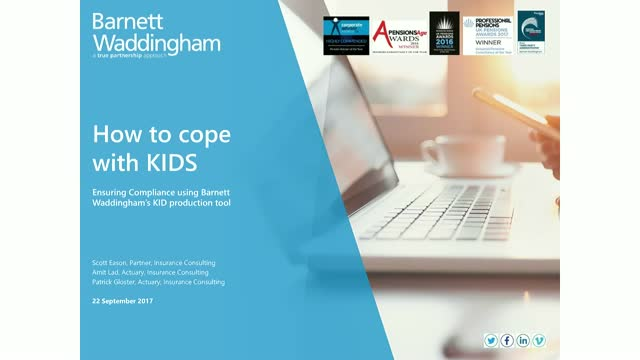 How to cope with KIDs (Key Information Documents)