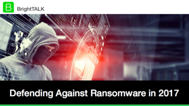 Defending Against Ransomware in 2017