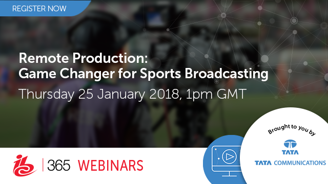 Remote Production: Game changer for sports broadcasting