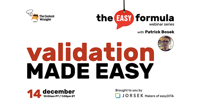 The Easy Formula: Validation Made Easy
