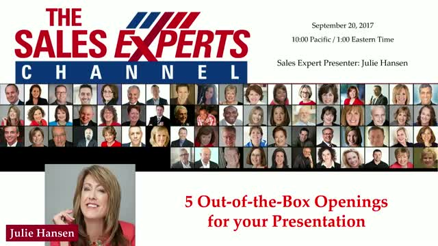 5 Out-of-the-Box Openings for your Presentation