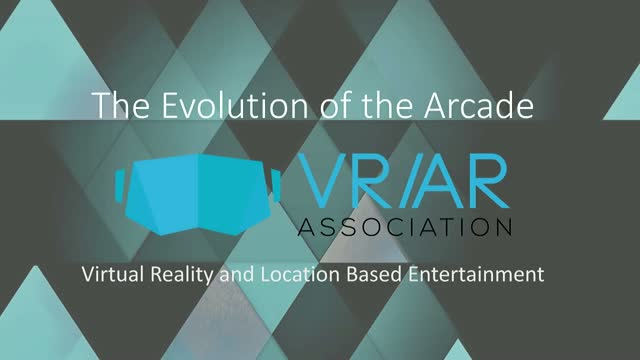 The Evolution of the Arcade: VR and Location Based Entertainment