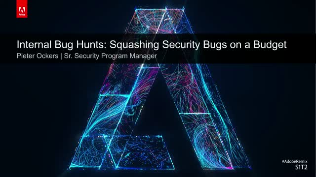 Internal Bug Hunts: Squashing Security Bugs on a Budget