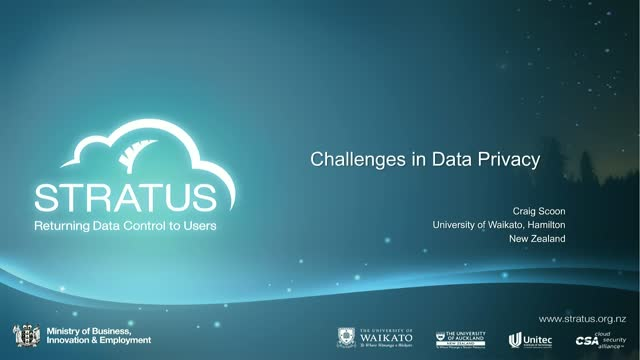 Challenges in Data Privacy