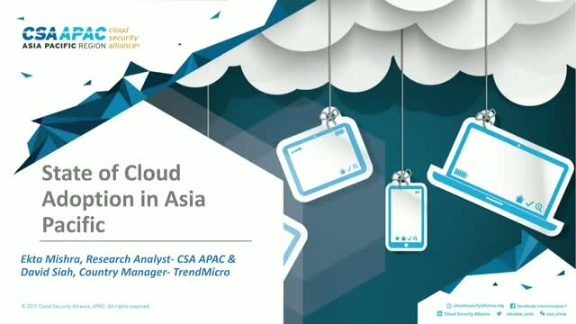 State of Cloud Adoption in Asia Pacific (APAC)