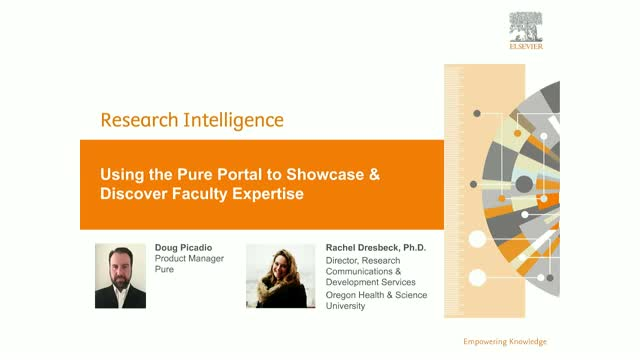 Using the Pure Portal to Showcase and Discover Faculty Expertise