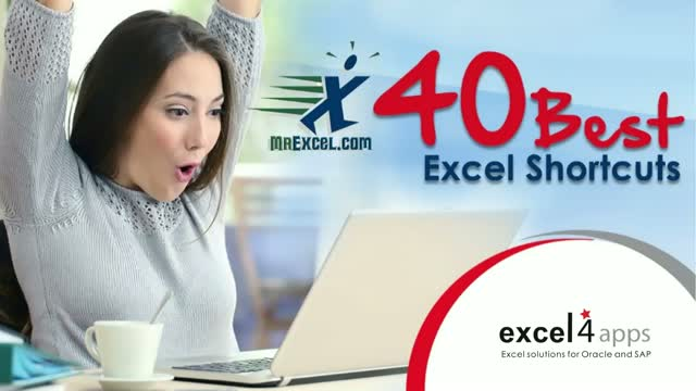 MrExcel's 40 Best Excel Shortcuts of All Time