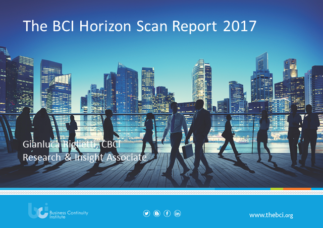 BCI Horizon Scan Report 2017