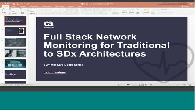 Full Stack Network Monitoring for Traditional to SDx Architectures
