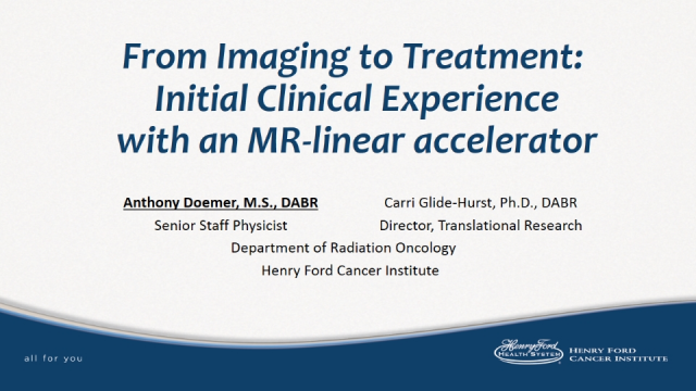 From imaging to treatment initial clinical experience with an mri linac fandeluxe Images