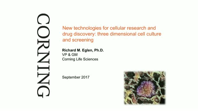 New Technologies for Cellular Research: 3-Dimensional Cell Culture and Screening