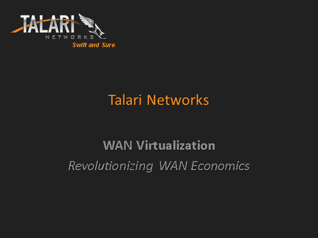 WAN Virtualization: Revolutionizing WAN Economics