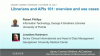 Librarians and APIs 101: overview and use cases