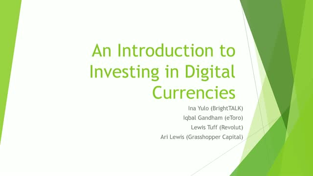 An Introduction to Investing in Digital Currencies