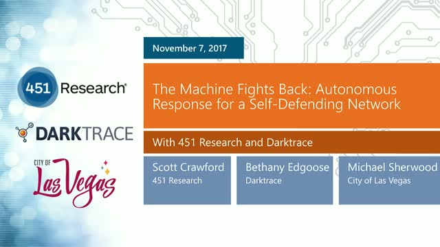 The Machine Fights Back: Autonomous Response for a Self-Defending Network