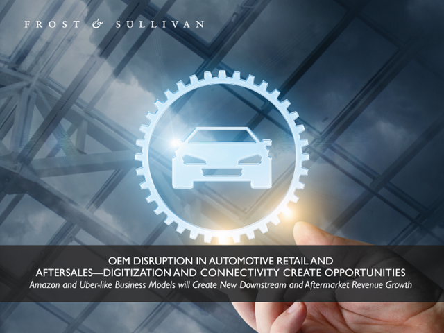 OEM Disruption in Automotive Retail and Aftersales—Digitization and Connectivity