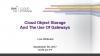 Cloud Object Storage and the Use of Gateways
