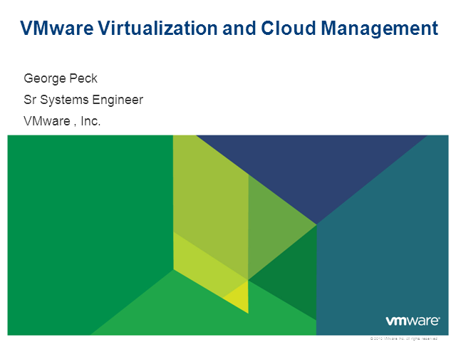 Master your entire virtualized infrastructure with VMware