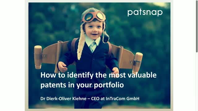 How to identify the most valuable patents in your portfolio