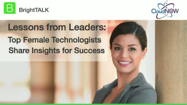 Lessons from Leaders: Top Female Technologists Share Insights for Success