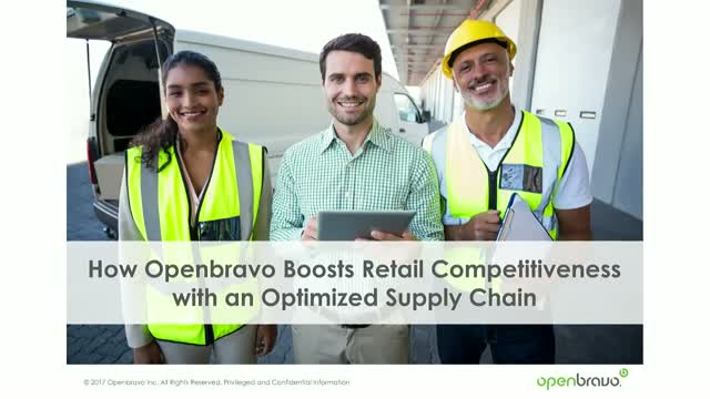 How Openbravo boosts retail competitiveness with an optimized supply chain