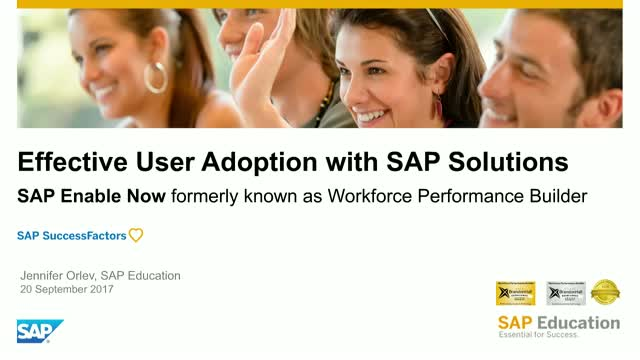 Deliver In-App Training for SAP S/4HANA with SAP Enable Now
