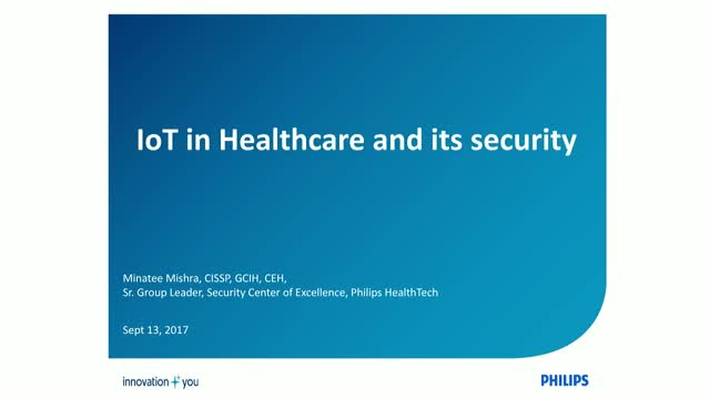 Security Challenges of the IoT Within Healthcare